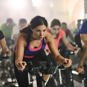 Exercise Bike HIIT Fitness