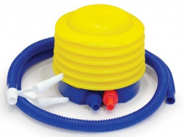 Balance trainer pump