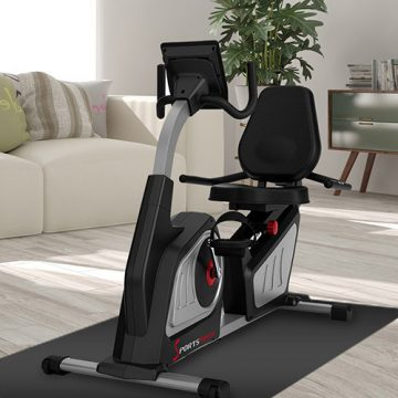 Sportstech Recumbent Exercise Bike ES600